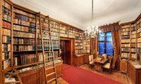 Библиотека замка в Чехии Штернберг