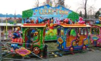 Парк аттракционов (Lunapark) в Праге