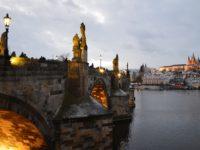 Карлов мост в вечернее время