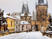 Карлов мост, Прага, зима