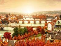 Карлов мост осенью, Прага