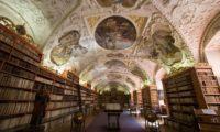 Страговский монастырь в Праге, библиотека