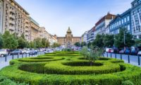 Прага, площадь Вацлава