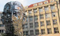 Прага, голова Кафки