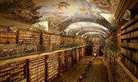 Библиотека в Праге Клементинум