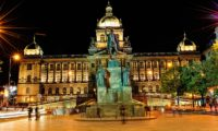 Площадь  святого Вацлава, Прага