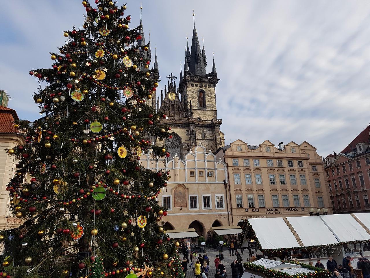 Погода в Праге в январе