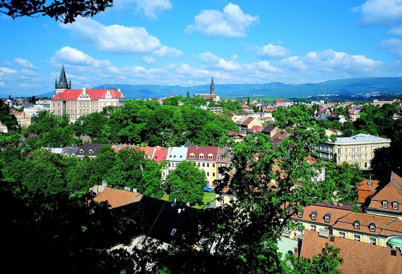 Город Теплице в Чехии
