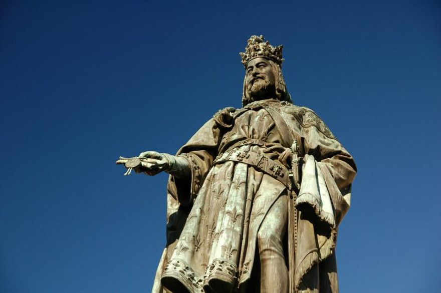 Чешский король Карл IV
