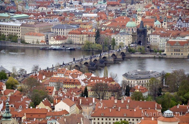 Прага в марте