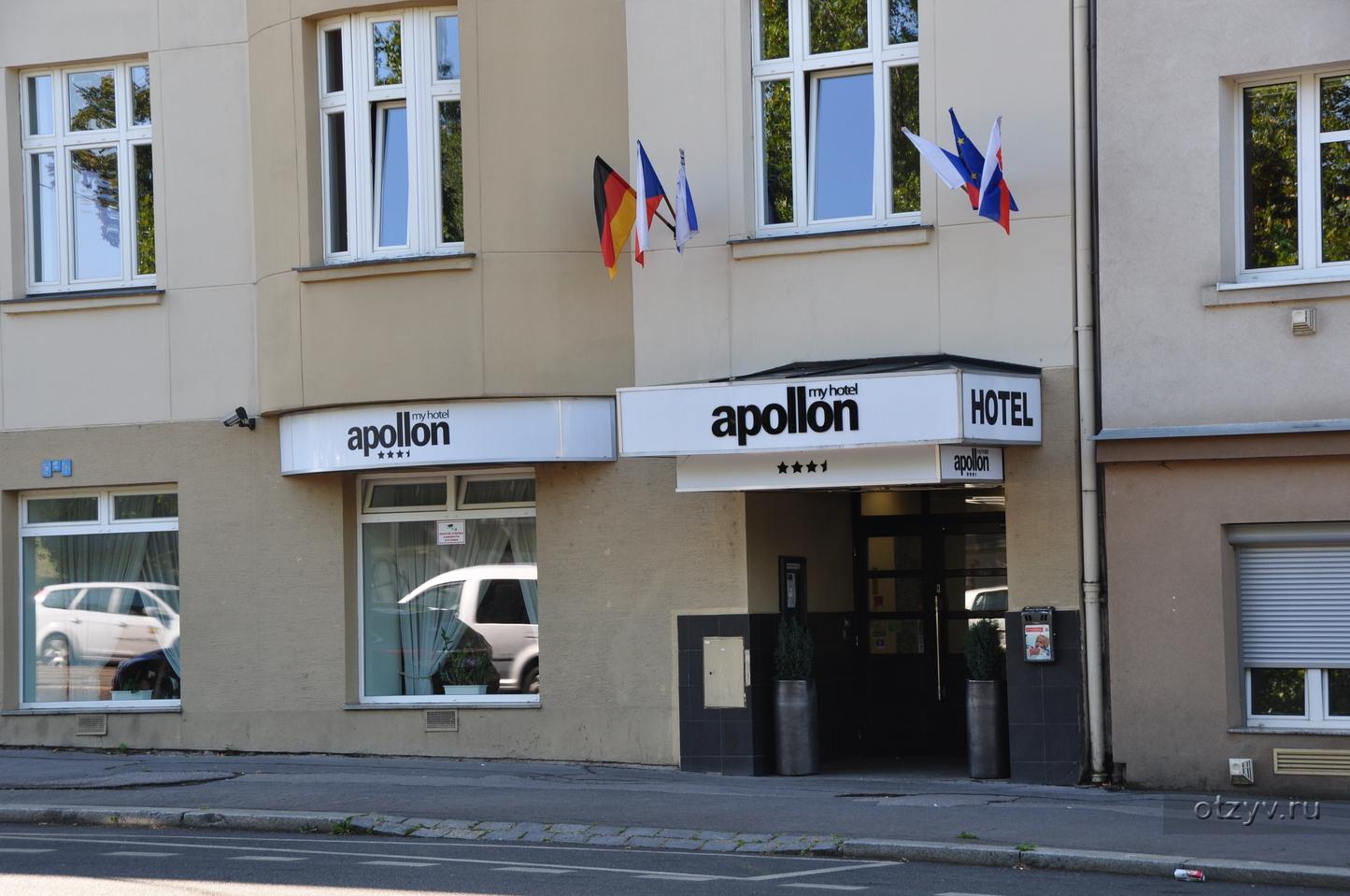 Отель My Hotel Apollon 3* в Праге