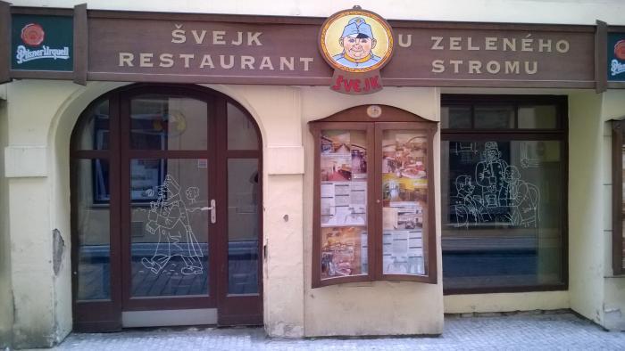 Ресторан у Швейка в Праге