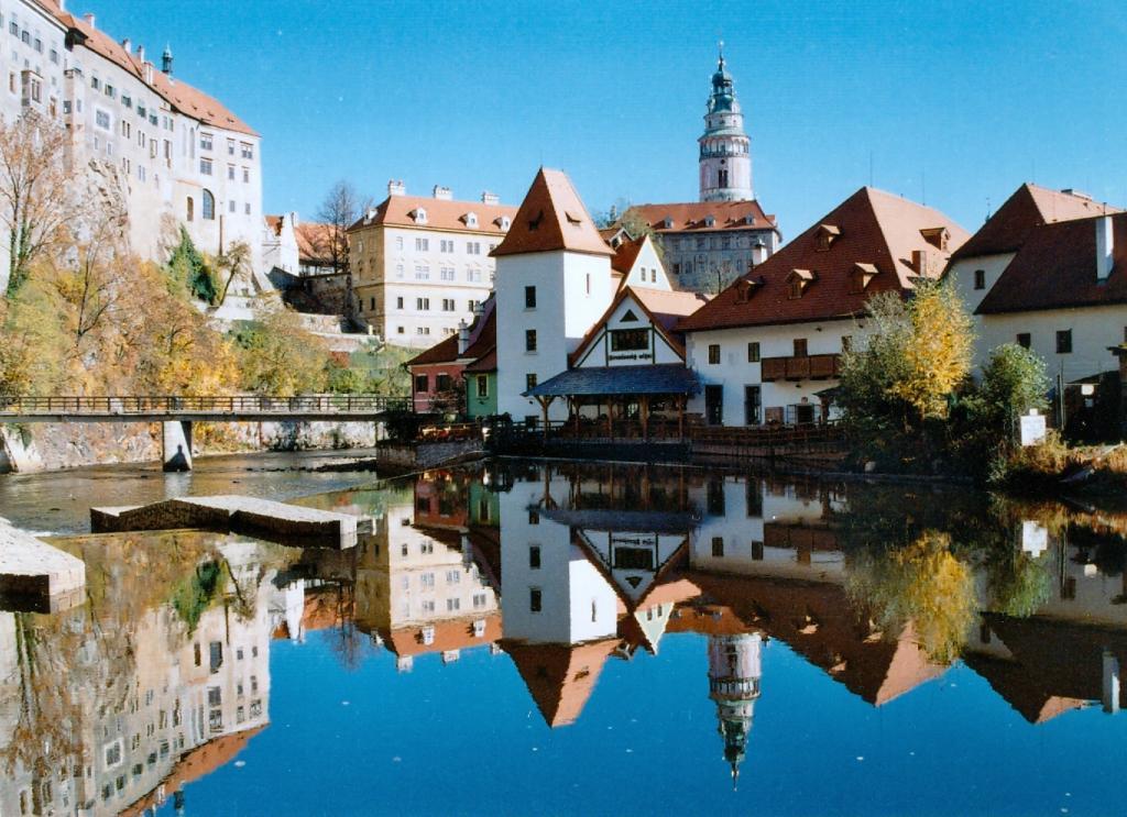 Замок Чески Крумлов в Чехии