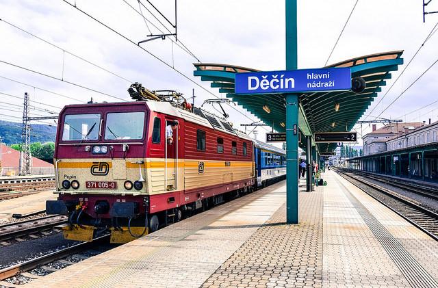 Чешские железные дороги