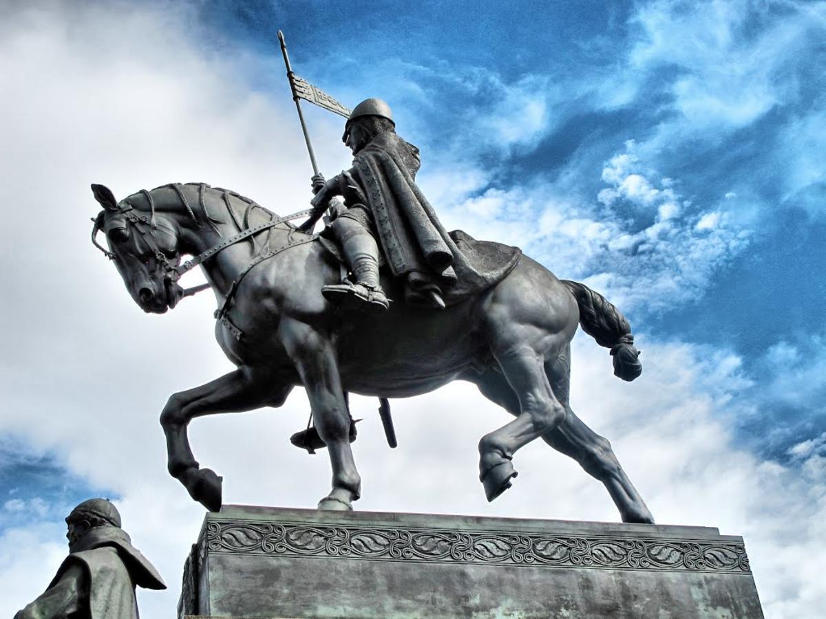 Памятник Святому Вацлаву в Праге