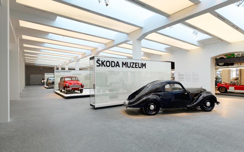 Музей Шкода в Праге