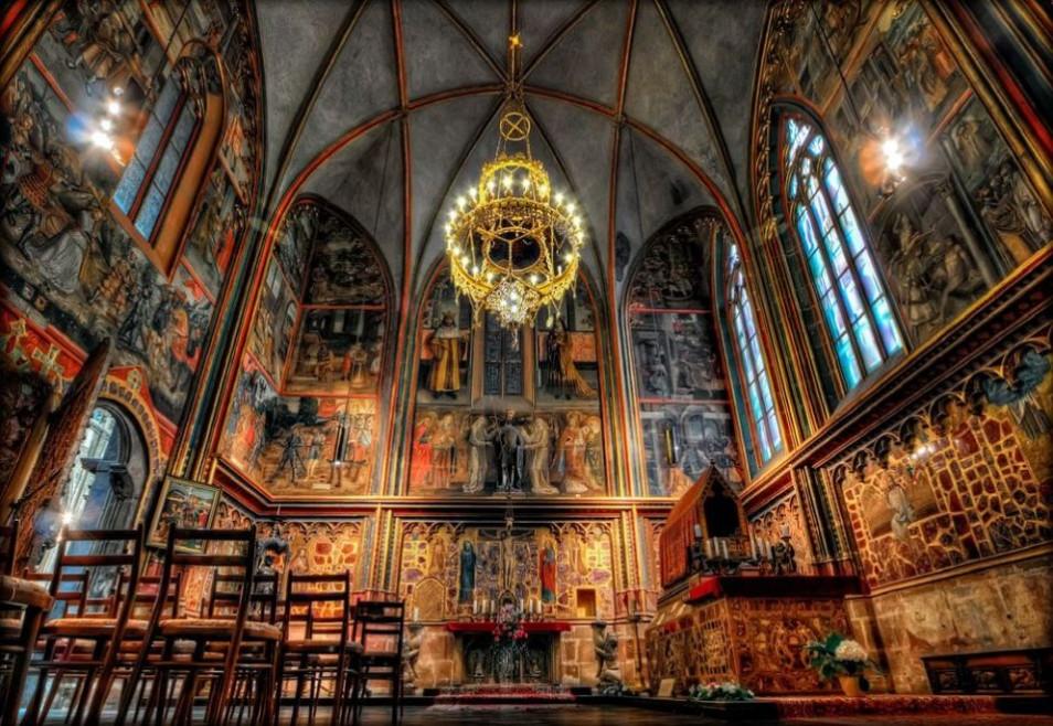 Капеллы собора Святого Вита