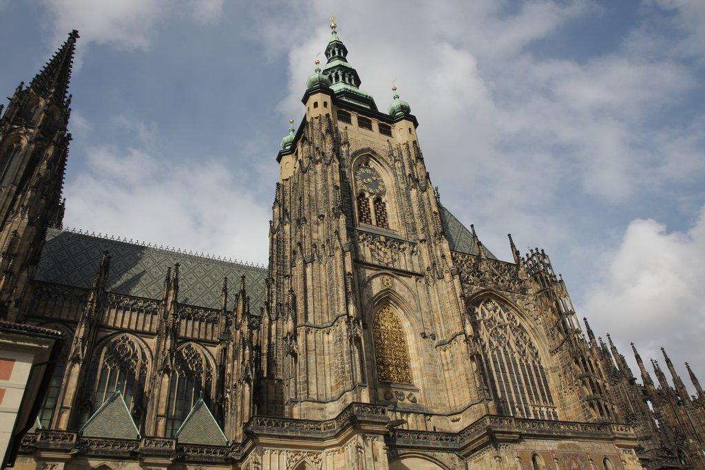 Южная башня собора Св. Вита