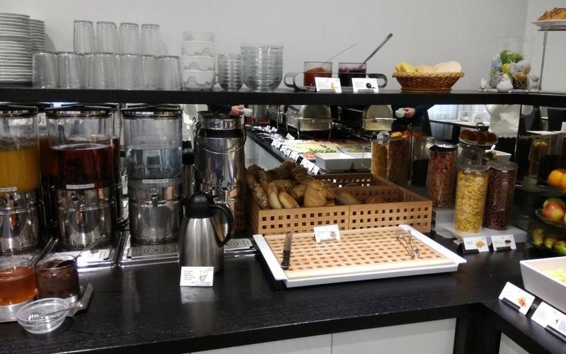 Завтрак в отеле Белый Лев 3*