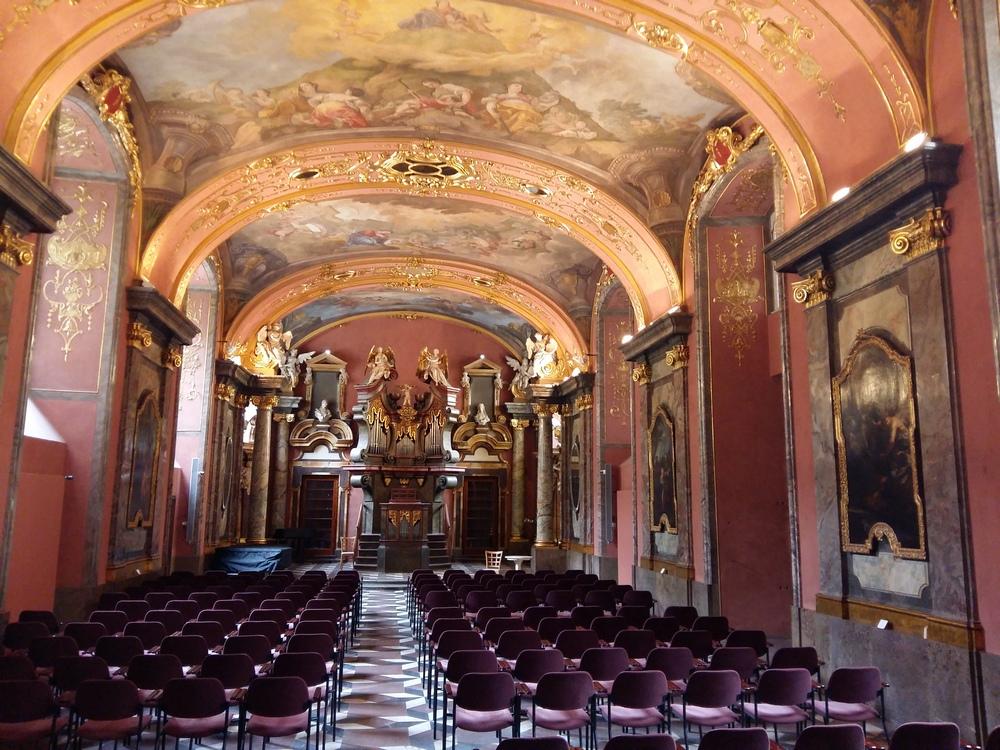 Клементинум в Праге, Зеркальный зал