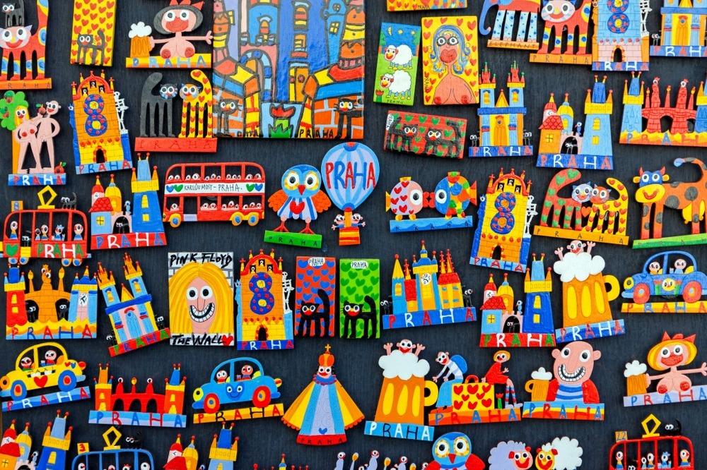 Сувениры из Праги: магниты