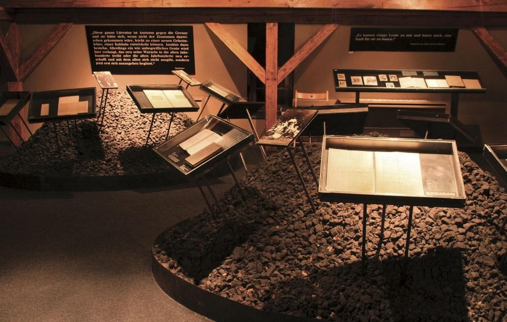 Музей Франца Кафки в Праге, экспозиция