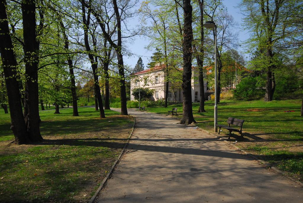 Парк Кламовка, Прага