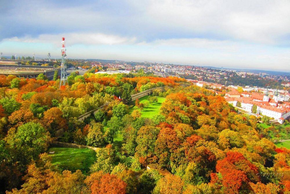 Петршинские сады, Прага