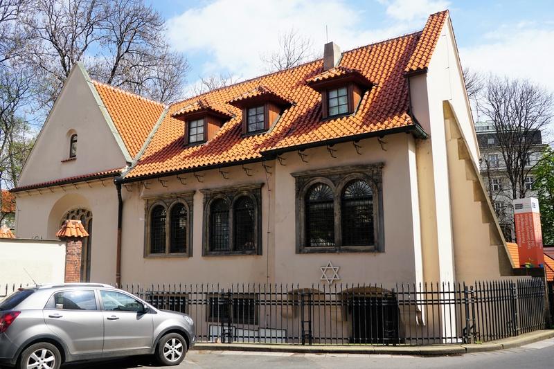 Пинкасова синагога, Еврейский квартал в Праге