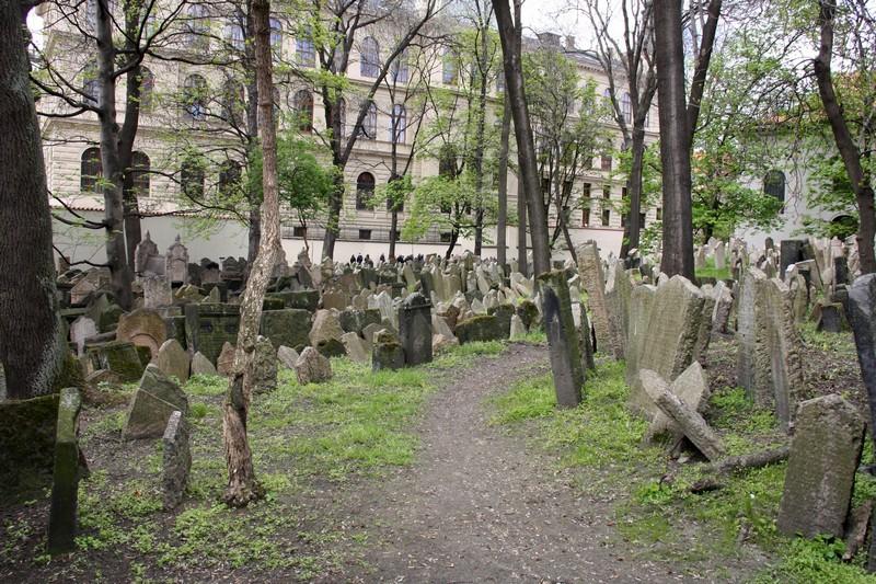 Старое еврейское кладбище, еврейский квартал, Прага