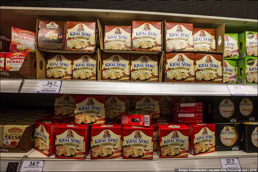 Что привезти из Праги из еды: чешские сыры