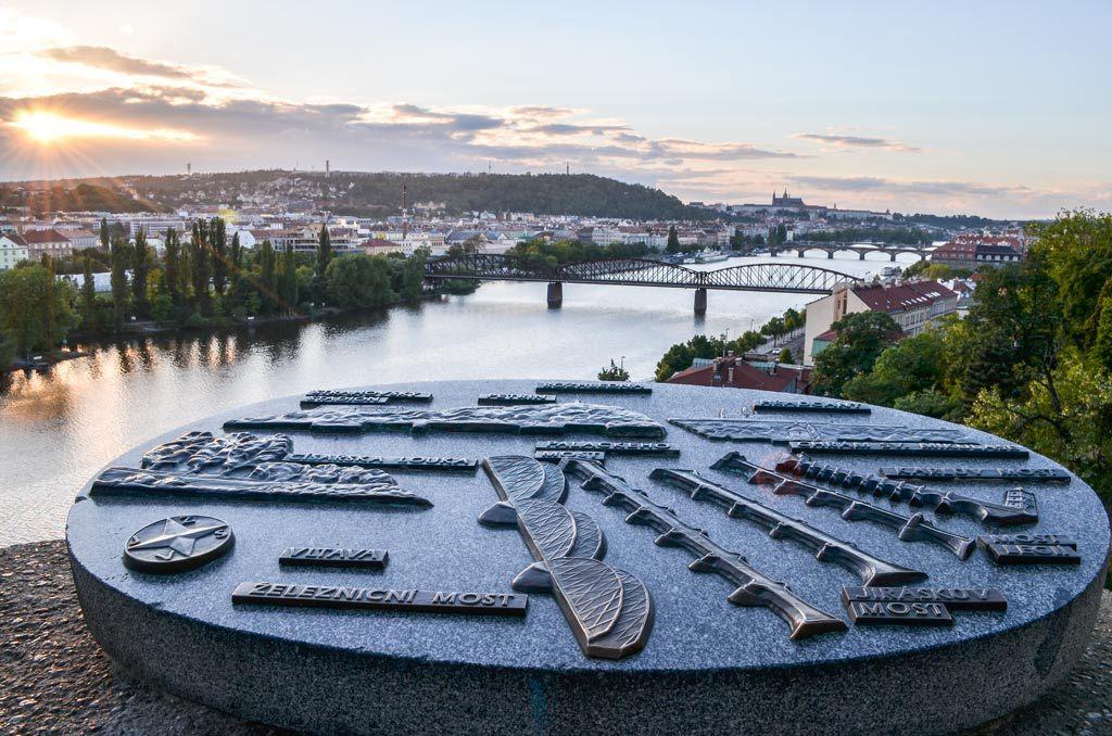 Обзорная площадка, Вышеград, Прага