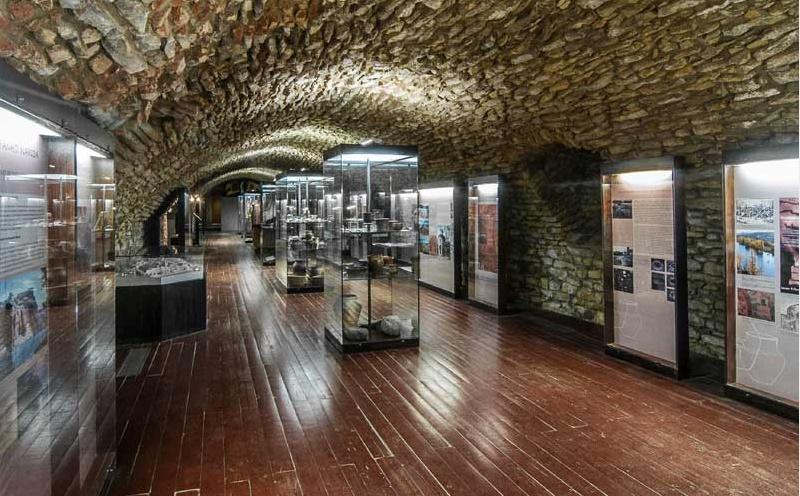 Подземелья в готическом стиле, Вышеград, Прага
