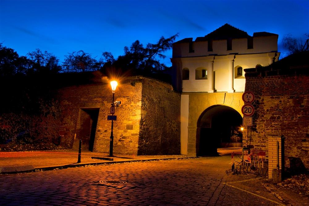 Таборские ворота Вышеградской крепости, Прага