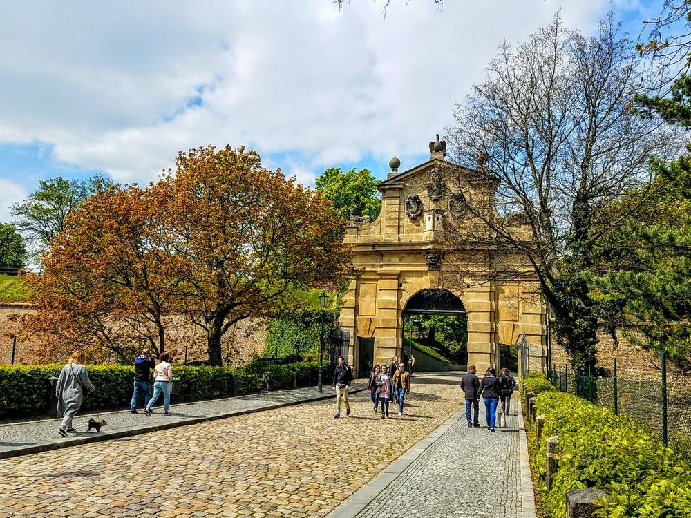 Французские ворота, Вышеград, Прага