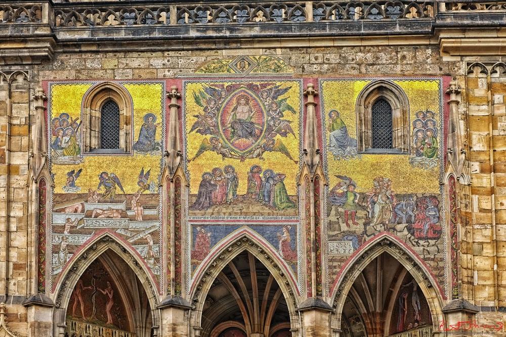 Золотые ворота собора Святого Вита, Прага