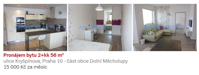 Пример объявления об аренде квартиры с кухонным уголком