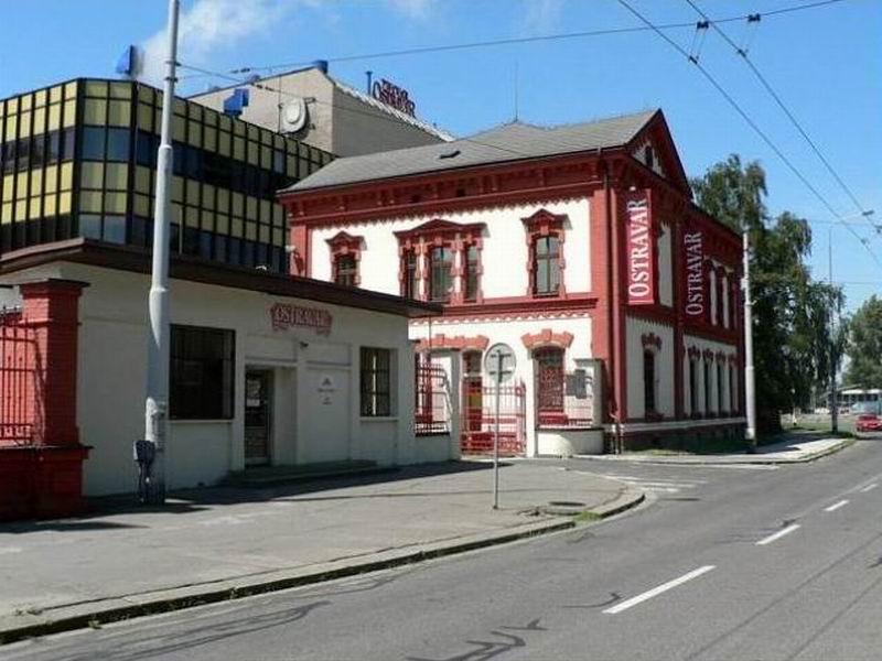 Пивоваренный завод Остравар в Остраве