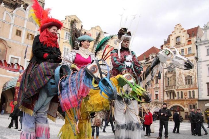 фестивали Праги