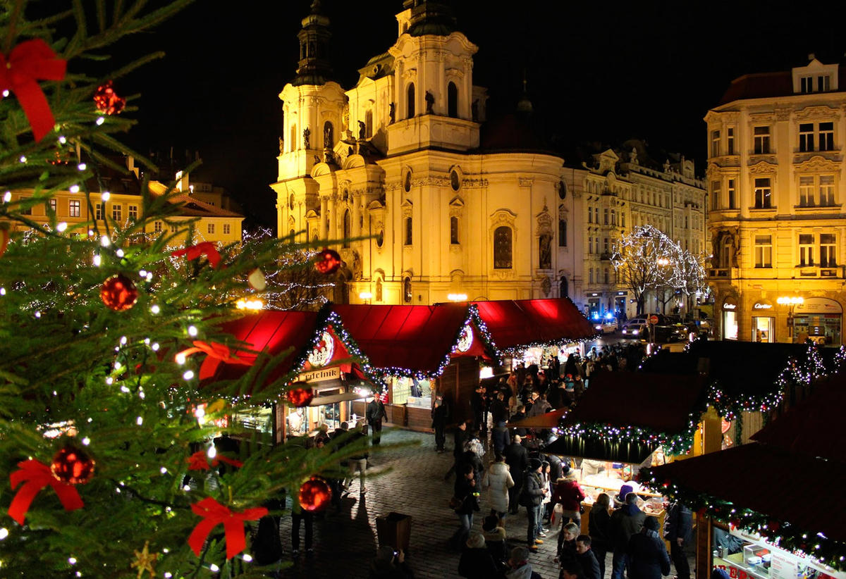 Праздничные мероприятия в Праге в декабре