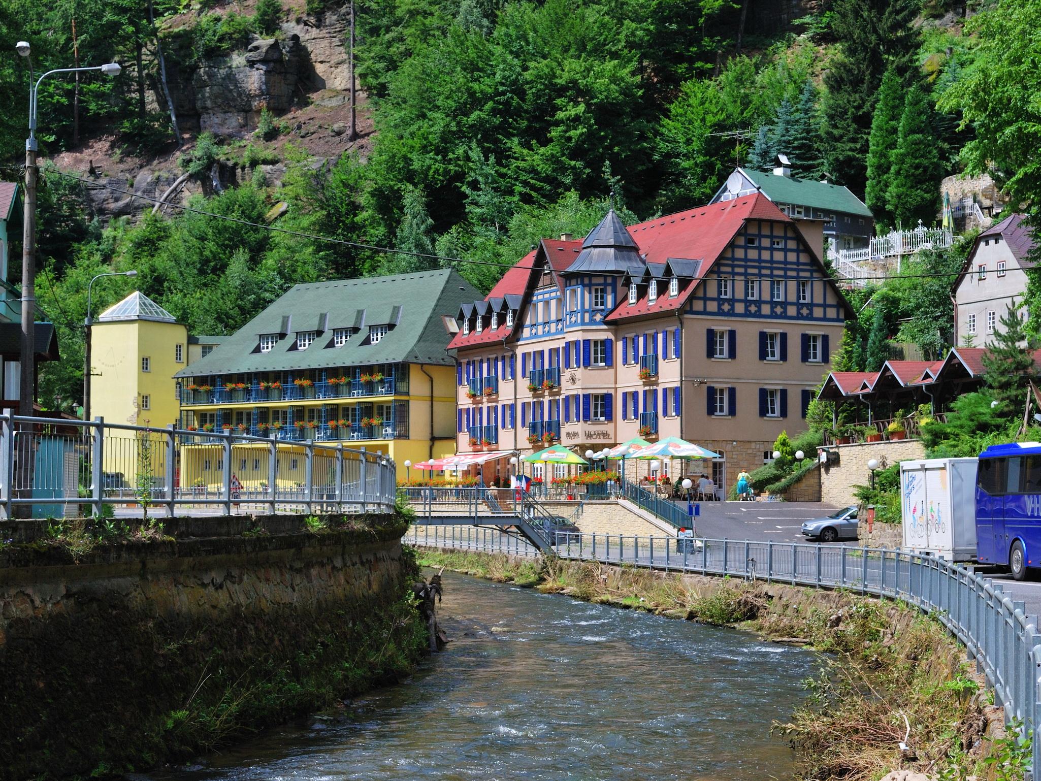 Город Хрженско, Чешская Швейцария