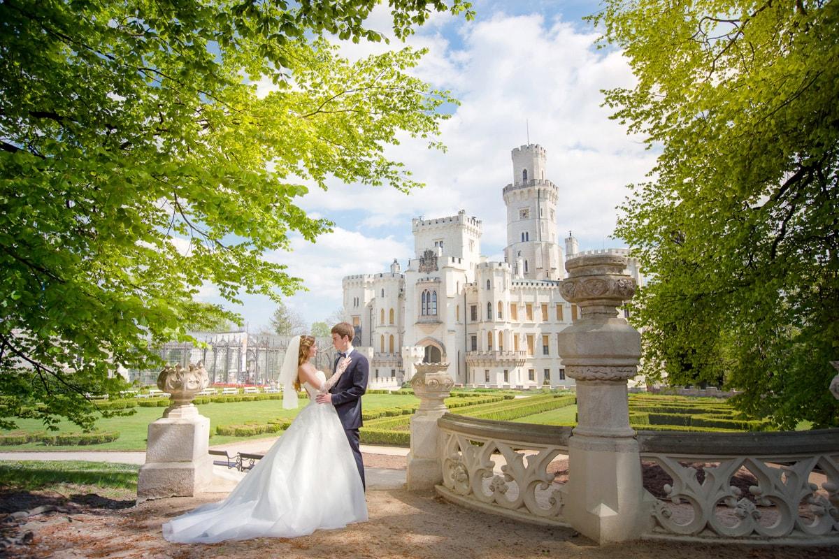 ак выбрать замок для свадьбы в Чехии