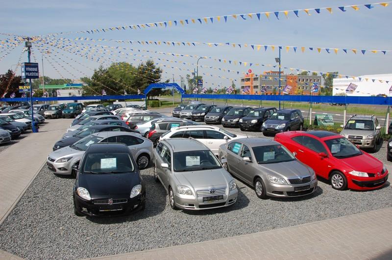 Автобазар в Чехии