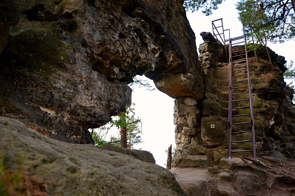 Малые Правчицкие ворота, Чешская Швейцария