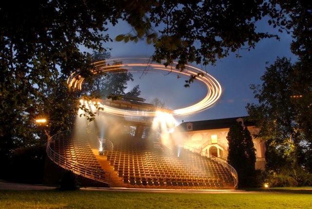 Вращающийся зрительный зал, Чешский Крумлов, Чехия