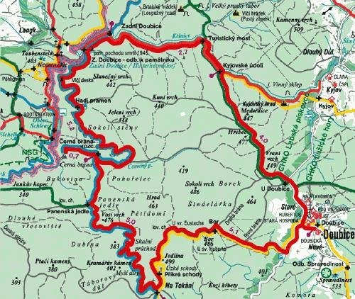 Маршрут самостоятельного путешествия по Чешской Швейцарии