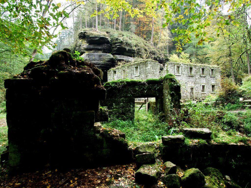 Дольская мельница, Чешская Швейцария