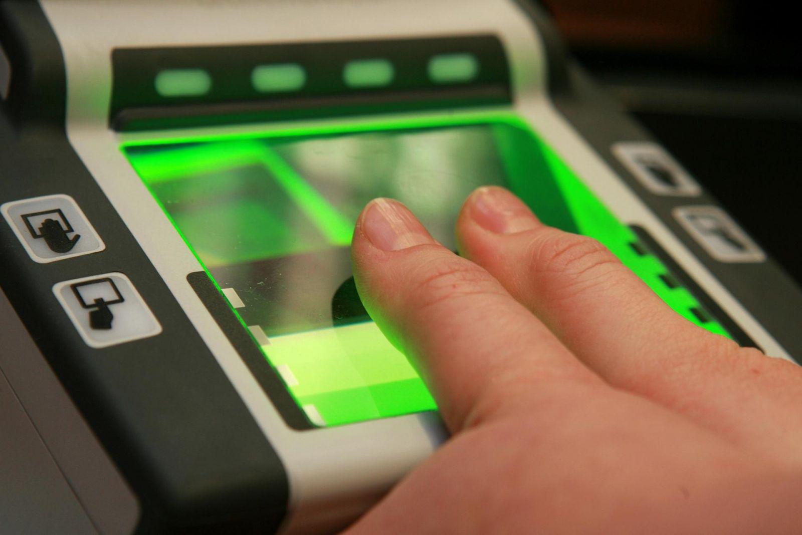 Сдача биометрии