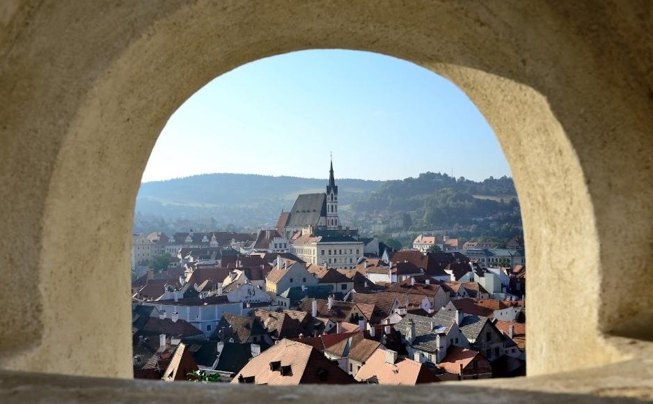 Костел Святого Вита в Чешском Крумлове