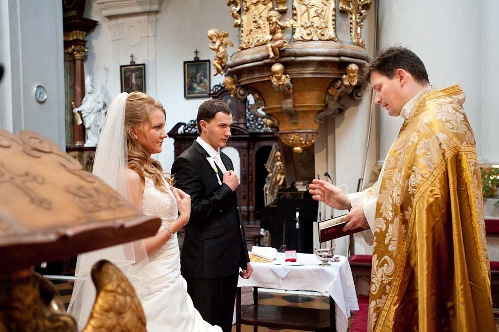 Католические венчания в Праге, костел Св. Томаша